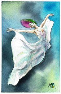 バレエで舞う