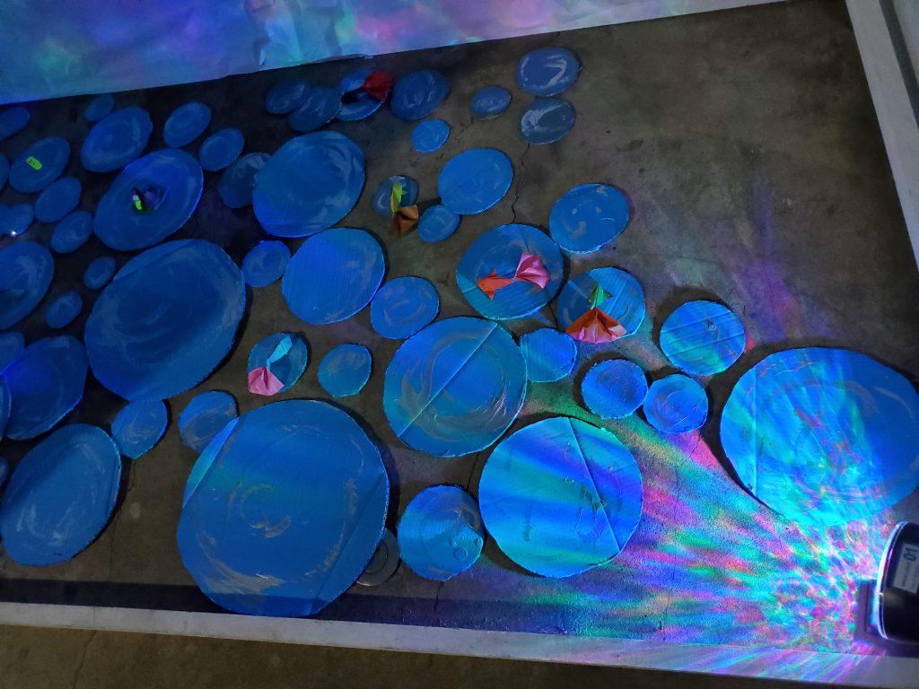 「 天空の島の物語 」(Arito Art作品)   ライトアップ ④