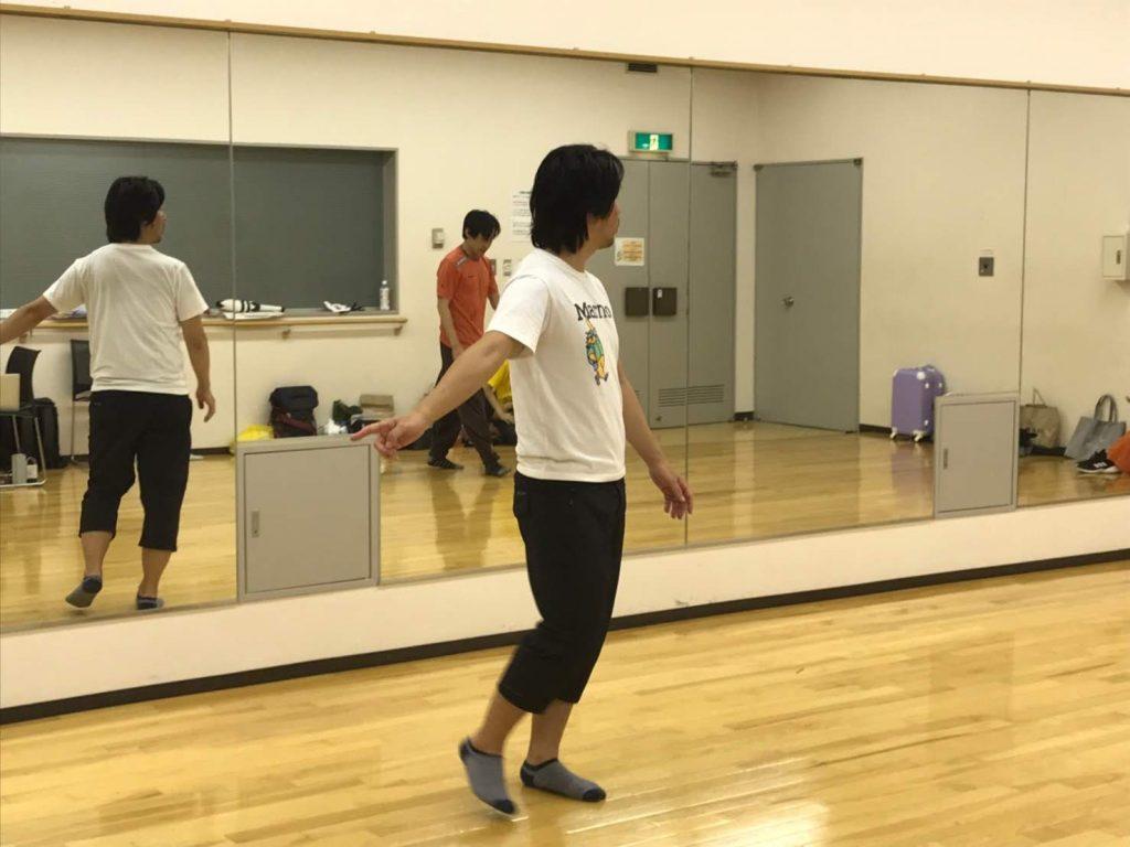 「ヒーローと悪」後編 脚本・演出:山縣有斗  演出風景