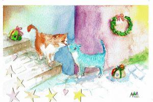 2018年のクリスマスカード