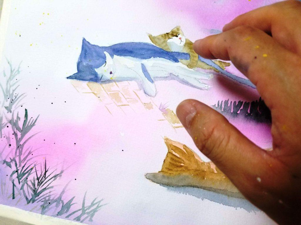 小さな星の物語 絵本づくり by Arito Art