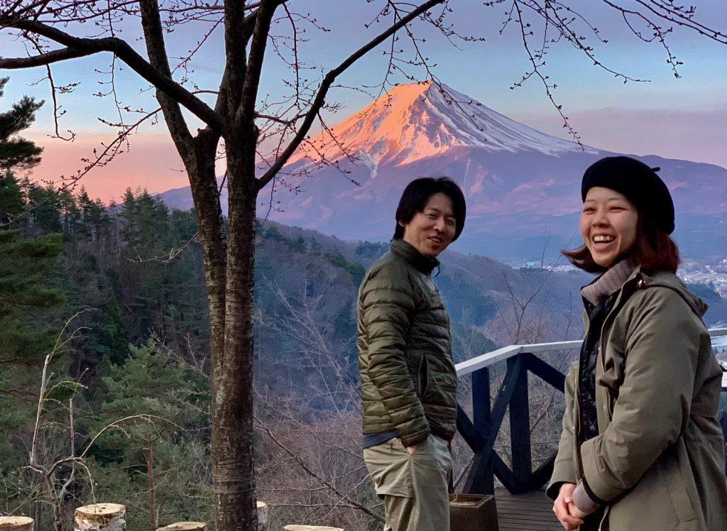 富士山、最高の場所
