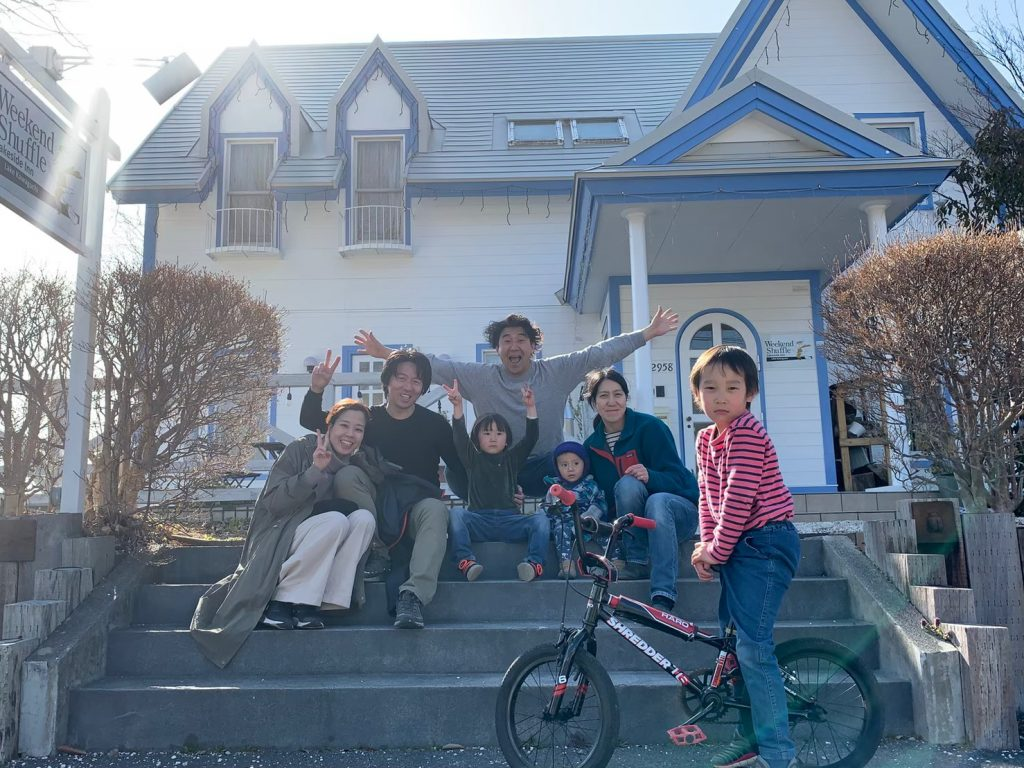 ウィークエンドシャッフルの古屋家族と山縣夫婦