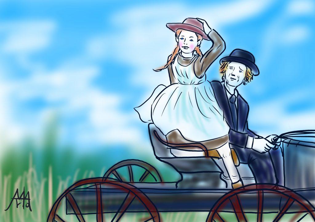 """アンという名の少女(ANNE WITH AN """"E"""") アボンリー"""