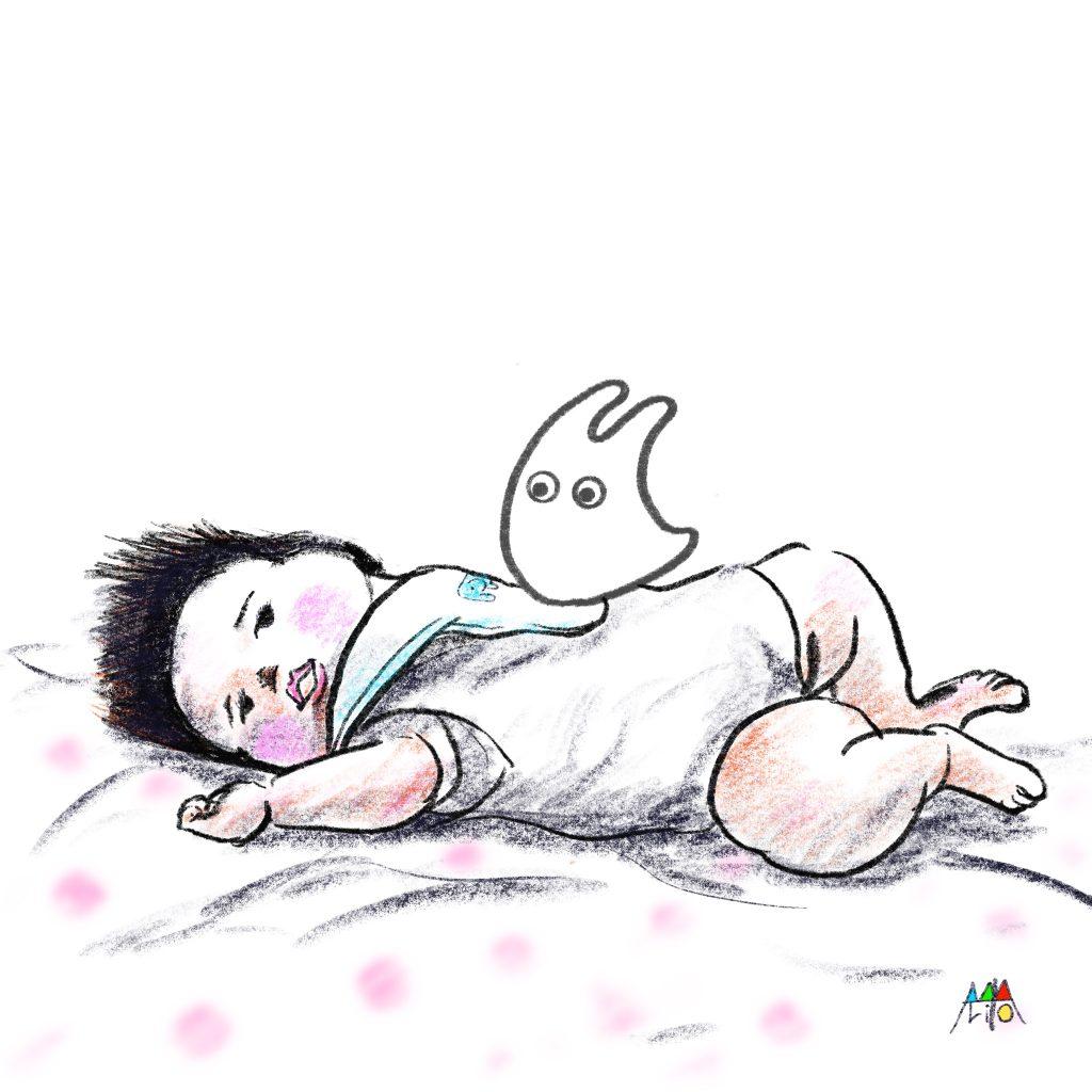 小トトロとぽこちゃん ©Arito Art